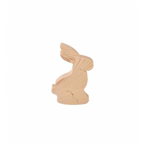 Drewniana figurka zajączek do DECOUPAGE