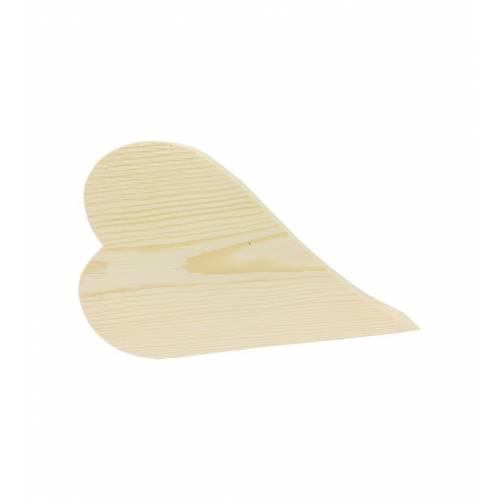 Drewniane małe serce do DECOUPAGE 10,5x10,5cm