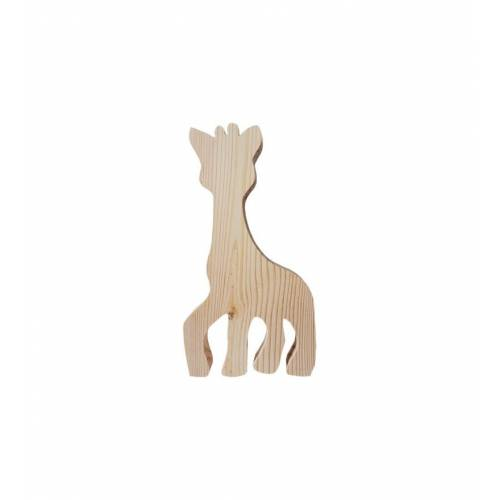 Drewniany szablon ŻYRAFA figurka do DECOUPAGE