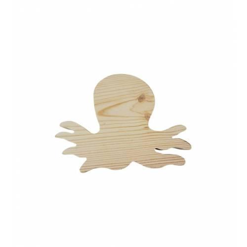 Drewniany szablon OŚMIORNICA figurka do DECOUPAGE