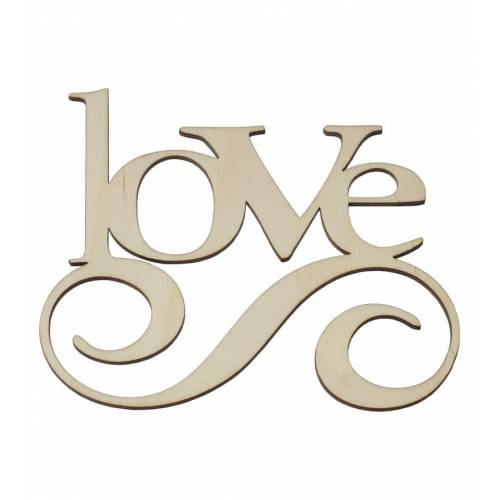Napis drewniany LOVE
